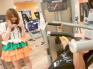 """可愛い制服×フィットネスの新感覚ジム♪""""体を動かしたい""""""""楽しく笑顔で働きたい""""ならみんな歓迎!トクベツな知識・資格は不要◎"""