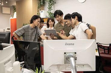 整った環境で正社員を目指せる★キレイなオフィスも自慢のひとつ♪