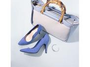 春ならではの可愛い靴がたくさん★透け感のあるドッド柄×リボンやギンガムチェック・キャンバス地、パステルカラーの靴など♪
