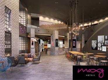 【ホテル・マルチタスク・クルー】世界的なホテルチェーン「マリオット・インターナショナル」が手掛ける新ブランド「Moxy Hotel」11月、日本初上陸!