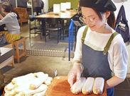 「おすすめのパンは何ですか?」と聞かれたら、あなたの腕の見せどころ!あなたらしい接客でお客様との会話を楽しんでください♪