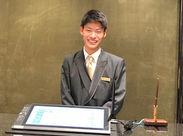 「いらっしゃいませ◎」笑顔でお客様をお出迎え☆ お客様に快適な時間を過ごしていただけるような接客を♪