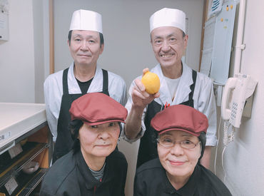 本格的な調理は社員(調理師)さんにおまかせ! プロの作るお料理を間近で見れる現場◎美味しいまかないもいただけます♪