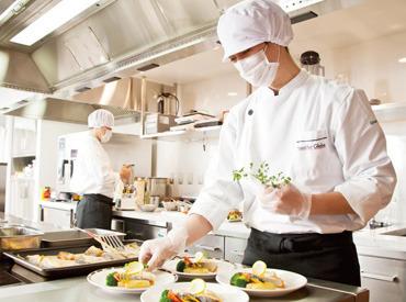【調理補助STAFF】< 未経験OK♪ >中高年・シニアの方も多数活躍中*.゜トレーにお箸を並べたり小鉢にお料理を盛ったり‥\とっても簡単!/