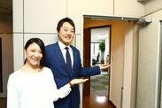 """向かって右の男性が、この税理士事務所の""""木島先生""""です◎ とっても穏やかで優しい方ですよ!一緒に働いて見ませんか☆彡"""