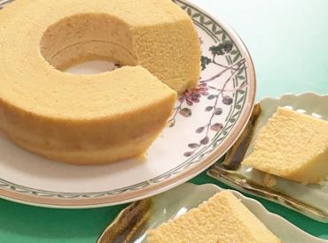 【お菓子作りStaff】\アナタはどれが好き!?/*バームクーヘン *マドレーヌ *カップケーキ etc…香りまでおいしい♪洋菓子作りをお任せ◎