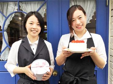 【カフェStaff】«SNS映え◎»フランス風のオシャレなお店★。*リニューアルオープンしました♪土日働ける方大歓迎☆→応募待ってます◎←