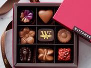 季節限定の可愛いショコラやケーキがいっぱい♪見ているだけで思わず笑顔に◎食べるのがもったいない!とSNSでも話題です★*