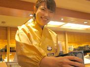≪オシャレな制服が人気!≫ カワイイ和装制服を着て働こう☆ 一人でも着れるカンタンな和装です◎