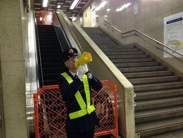 地下鉄内なので天候に左右されることなく仕事を行えます。