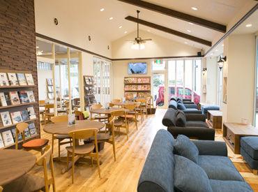 コーヒーの香りがお店いっぱいに広がっています♪ゆったり落ち着ける空間で、アナタも働いてみませんか~☆