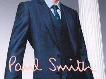 【アパレルstaff】*。☆単なる販売だけじゃない☆。*「ポールスミス」の仕入れ⇒販売まで関われちゃう!きっかけは「ポールスミスが好き」でOK!