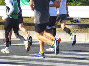 <学生さんも大歓迎> 年1回開催するマラソンイベント♪この機会に働いてみませんか?(イメージ画像)