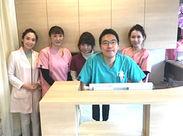 キレイなクリニックで働きやすさ◎患者様とスタッフそれぞれが気持ちよく過ごせる医院を一緒に作りましょう♪