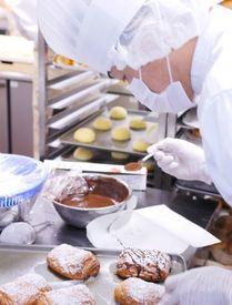 【パン作りSTAFF】かぼちゃのクリームパイ・季節のパンetc…[味良し][見た目良し]のパンをあなたの手で♪未経験&バイトデビュー大歓迎です★*+.