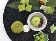 抹茶スイーツや和食など…京都らしいメニューが人気★観光のお客様が多いですよ◎