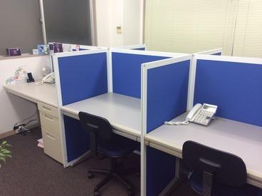 綺麗なオフィスで50代が活躍中◎ 出社時間が調整できるのも嬉しいポイント♪※画像はイメージ