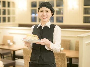 フレッシュケーキ&カフェ HARBS! 人気のオシャレCafeで働きませんか?♪ お仕事は丁寧にお教えしていきます◎