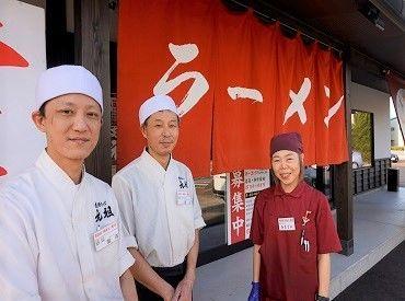 同系列の店舗では、学生・主婦・フリーターさんなど さまざまな年代のSTAFFが和気あいあいと働いています♪ 写真:昭和食堂 小松