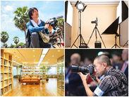 成長中のクリエイティブ会社。全国4拠点(東京、大阪、京都、金沢)にオフィスを構え、海外展開も進めています。