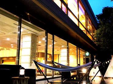 暑い日も寒い日も雨の日も いつでも快適に楽しめる グランピング風ホテルがOPEN★  オープニングSTAFFとして働きませんか♪