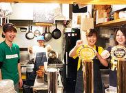 料理好きな方大歓迎!幅広い時間帯で働けます♪ 22時~勤務できる方歓迎★ 学校終わりの学生さんやWワークの方も働きやすい☆