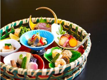 【調理スタッフ】一流日本料理店の料理人のもとで働けます!≪熱海駅徒歩2分≫タワーマンション1階◎経験を活かして働けます★