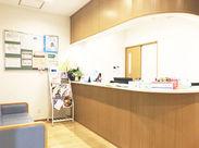 明るくキレイな病院で働いてみませんか?事務や医療系の経験がなくてもOK!笑顔の絶えない働きやすい職場です◎