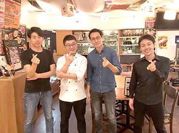 【韓国料理STAFF】韓国好き必見!浜松町に新店がOPEN♪ドラマが好き!K-POPが好き!料理が好き!俳優が好き!一緒にお店を盛り上げましょう♪
