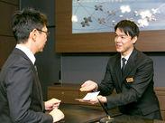 \ホテル経験ゼロでOK♪/まずは笑顔で「いらっしゃいませ」と言えればOK!!ブランクのある方も歓迎◎