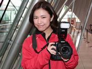 「写真が好き!」「人と話すことが好き!」そんな方 大歓迎♪カメラの知識・経験は一切必要ありません◎