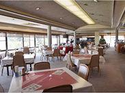 ゴルフ場 休憩スペースにあるレストラン☆ 1日のスケジュールが決まっているので、自分のペースで◎ 休み希望・日数も相談OK♪