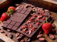 低温焙炒のカカオ豆から作ったローチョコレート、ビーントゥバー専門店♪美容や健康に気を配る方からも大人気のSHOPです★