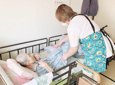 高齢の方の生活をサポートをするお仕事です◎ 「ありがとう」と言っていただけることが やりがいにつながります*