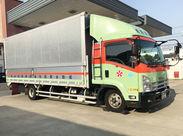 4tトラックを使って近距離の配送業務をお願いします◎ 先輩STAFFが丁寧にお教えします!