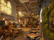 <昨年10月OPEN>100年後に向け、食の新しい体験を追求するカフェ〝LAND Seafood〟ワクワクするような毎日が待っています!