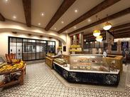 ≪◆スイーツ&ベーカリーカフェ◆≫ オシャレに楽しく接客♪ 安定して働きたいパートさん大募集! ※店舗写真はイメージです