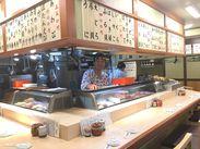 お寿司屋さんって怖そう?いいえ、そんなことはありません!スタッフもお客さんも優しい方ばかりです★
