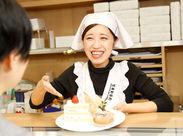 田無駅すぐ!地元に愛されるケーキ屋さん♪通勤もらくらく♪とても便利な好立地です!未経験・大学生歓迎★大学生活躍中+*