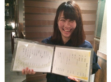 【和食居酒屋STAFF】大学生のアルバイトAさんの《まさむらの良いところベスト3》(1)人の良さ!(2)まかないの美味しさ!(3)経験が積めるところ!