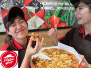 #バイト先の #友達と #一緒にピザパ #美味しいピザは3割引き! #半額の #ピザもあるかも◎