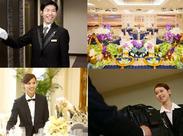 横浜で人気の結婚式場のお仕事♪ 事前に研修があるので、未経験の方もご安心下さい! 一緒に素敵なバイトを始めましょう♪