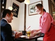 笑顔でお客様対応してくれればみんな楽しく笑ってお仕事できます!