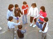 子どもたちはみんな遊ぶことに一生懸命♪見ているだけでパワーをもらえます*