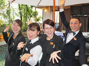 【ホール/キッチン】◆ 東京のオトナの癒し空間 ◆。:+*゜カジュアルにフレンチを楽しめるレストラン★≪未経験OK≫フレンドリーなSTAFFばかり♪