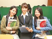 現役大学生が多数活躍中です!ほとんどが未経験からのスタート♪