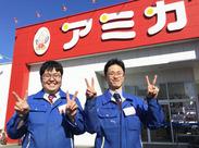 店長&副店長です!シフトや仕事のこと…何でもご相談ください★亀島駅から徒歩4分♪週3日から都合に合わせて働けます◎