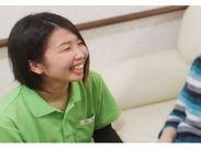 「ありがとう」の言葉と、入居者様の笑顔が一番のやりがい♪レギュラー勤務出来る方は積極的に採用中です◎
