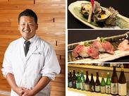 お料理作りは料理人にお任せ!飲食店経験者も歓迎♪ アルバイトさんは料理やお飲み物の提供をお願いします。