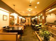 モダンで落ち着いた店内◎ お客様にとっても、スタッフにとっても心地よい空間&雰囲気作りにこだわっています♪